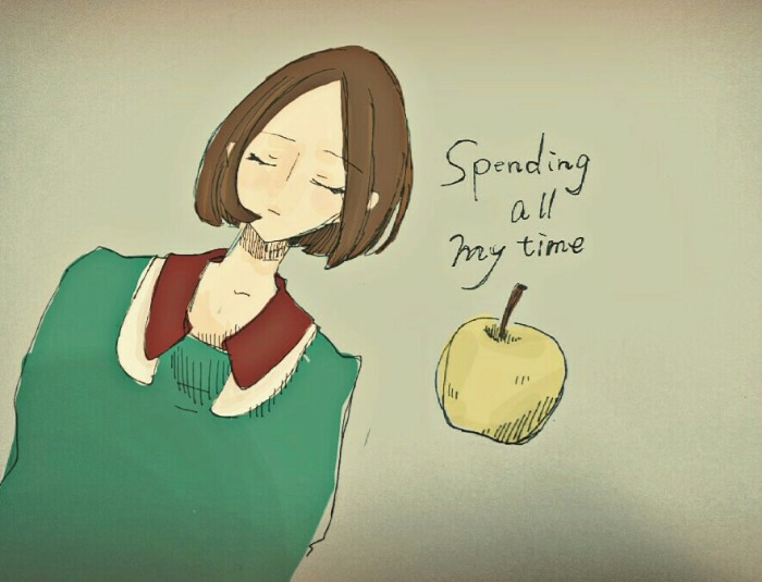 Spending all my time